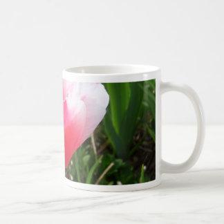 Spring Pink Tulips CricketDiane Flowers Basic White Mug