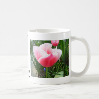 Spring Pink Tulips CricketDiane Flowers Classic White Coffee Mug