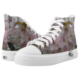 Spring Pinky Zipz High Top Shoes Printed Shoes
