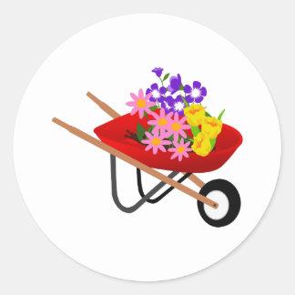 SPRING PLANTING ROUND STICKER