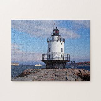 Spring Point Ledge Lighthouse, Maine Puzzle