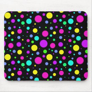 Spring Polka Dots Mouse Pad