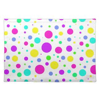Spring Polka Dots Placemat