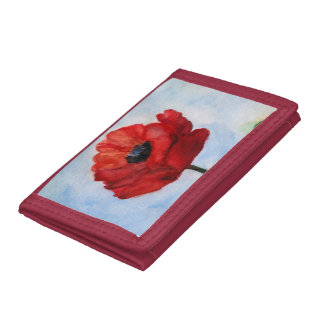 Spring Positive Poppy Wallet