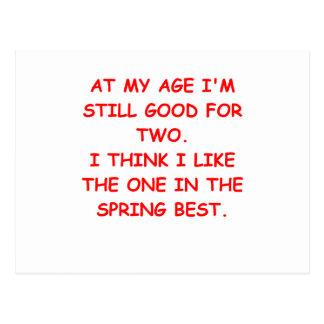 spring post card
