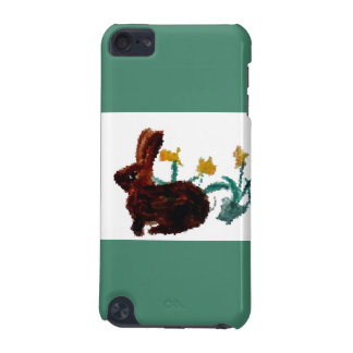 Spring Rabbit Daffodil Art iPod Touch (5th Generation) Cases