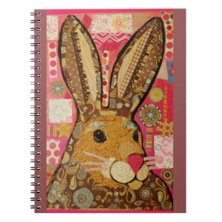 Spring Rabbit Photo Notebook