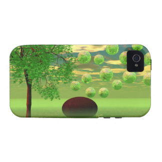Spring Renewal – Lemon Lime Life Force iPhone 4 Cover