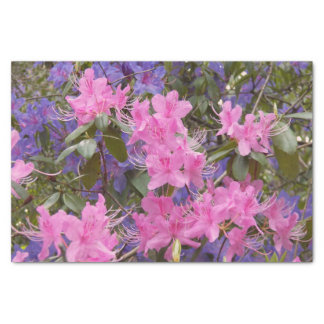 Spring Rhododendrons Floral Tissue Paper