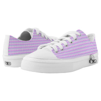 Spring Rhombus™ M/W Low Top Shoes Printed Shoes
