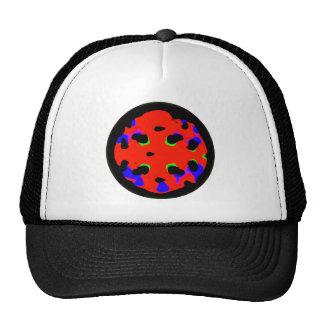 Spring round pizza hat