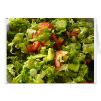 spring salad card