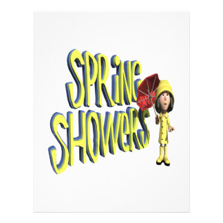 Spring Showers Personalized Flyer