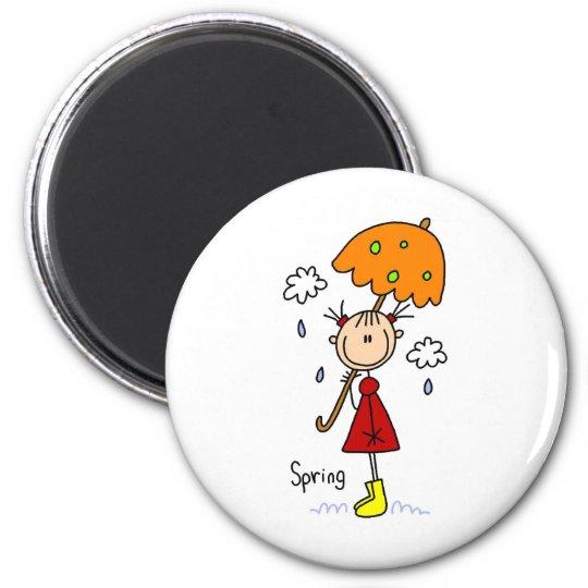 Spring Showers Magnet