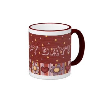 Spring Sings Oh Happy Day Coffee Tea Mug