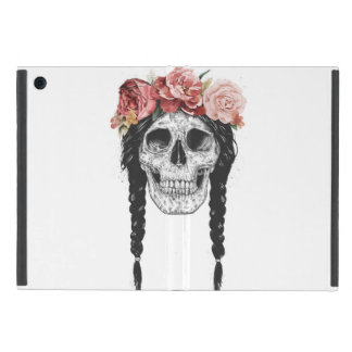 Spring skull covers for iPad mini