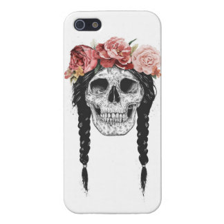 Spring skull iPhone 5/5S cover