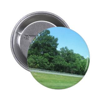 SPRING SKY CherryHill NewJersey USA Nature GREEN 6 Cm Round Badge