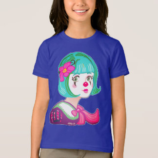 Spring Spirit Clown Girls' Fine Jersey T-Shirt