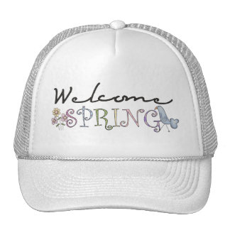 Spring Stuff · Welcome Spring Hat