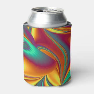 Spring Summer Autumn Flowers Magic Can Cooler