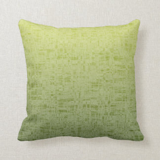 Spring & Summer Watermelon Green to Yellow Throw Pillow