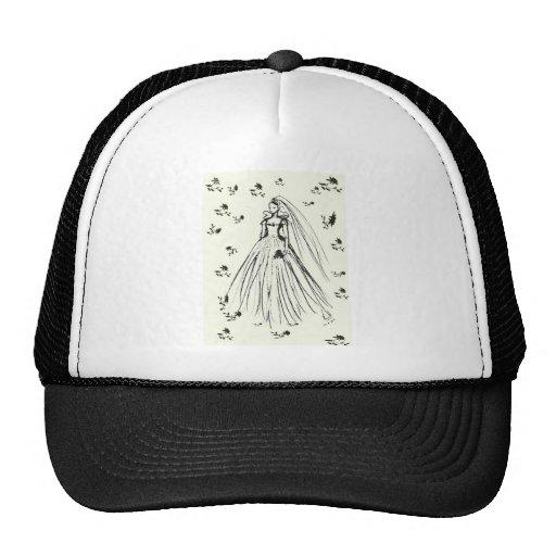 Spring Summer Wedding Trucker Hat