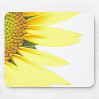 Spring sunflowers mouse mat