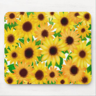 Spring Sunflowers Mousepad