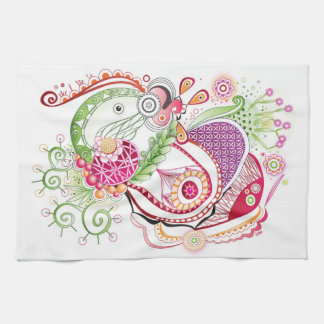 Spring tangle, kitchen towels