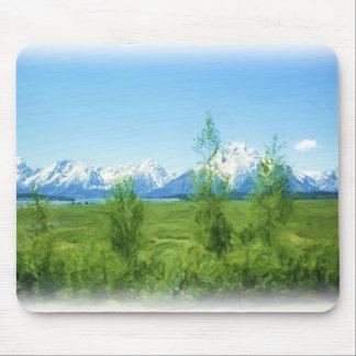 Spring Tetons mousepad