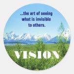 Spring Tetons VISION sticker