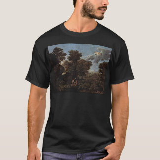 Spring (The Earthly Paradise) by Nicolas Poussin T-Shirt