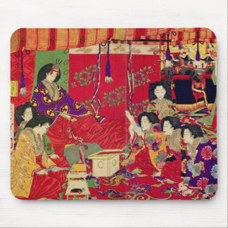 Spring the interest poetry party mouse pad