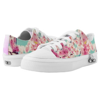 Spring things printed shoes