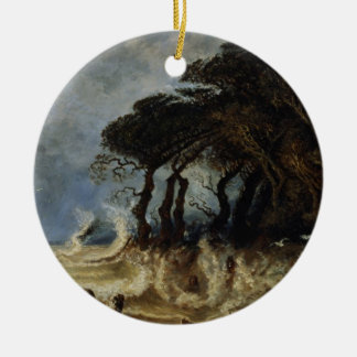Spring Tide near Honfleur, c.1861 Christmas Ornament
