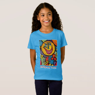 Spring Time - Blue  -Time Pieces T-Shirt