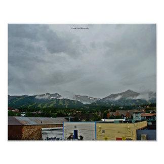 Spring time Breckenridge, Colorado Photo Print