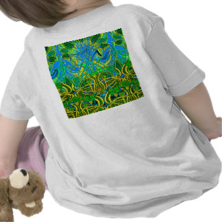 Spring time in the flower garden tshirts