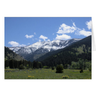 Spring Time In The Valley Greeting Card