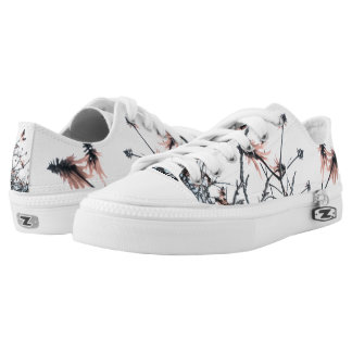 Spring time printed shoes
