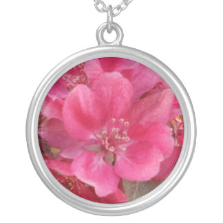 Spring Time Silver Plated Necklace