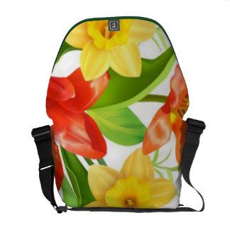 Spring Time Yellow Daffodil Messenger Bag
