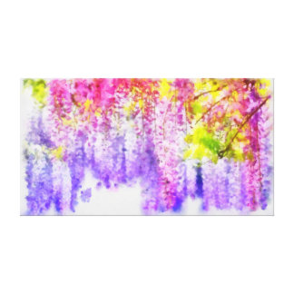 Spring Tinkle: Digital oil painting by BECOYA Canvas Prints
