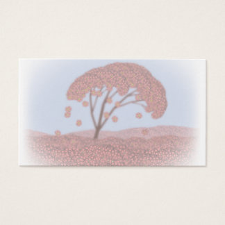 spring tree business card