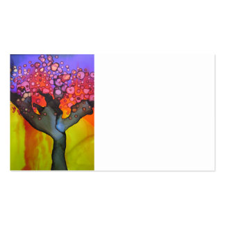 Spring Tree Pack Of Standard Business Cards
