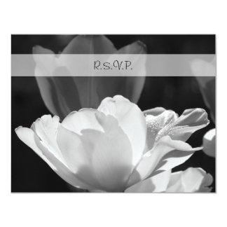 Spring Tulip RSVP Wedding Invitation