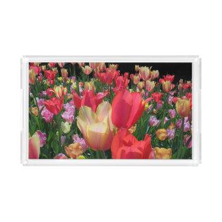 Spring Tulips Acrylic Tray