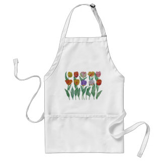 Spring Tulips Standard Apron