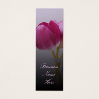 Spring Tulips Bookmark Business Cards